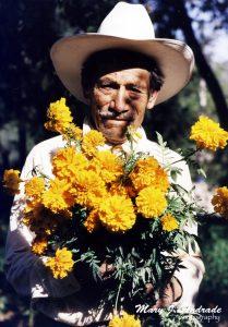 Flores para la ofrenda.