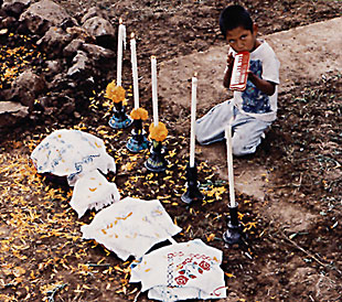 "The Vigil of the Little Angels"" in P'urhepecha and Spanish"